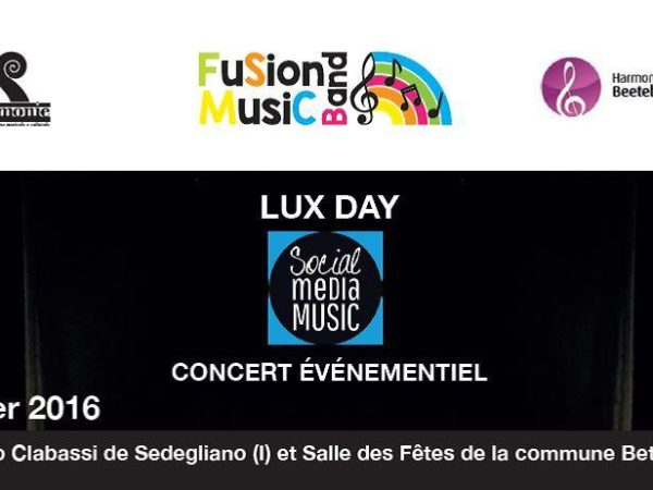 Social Media Music Lux Day
