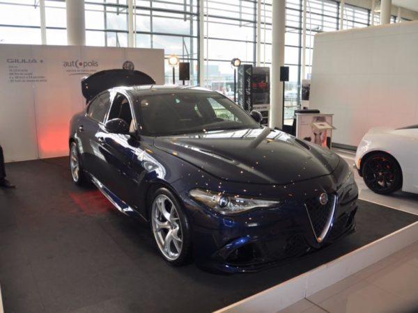 Découverte de la nouvelle Alfa Romeo Giulia Quadrifoglio