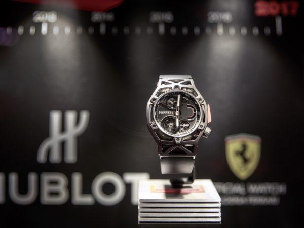 Hublot célèbre 7 ans d'un partenariat exceptionnel avec Ferrari au Luxembourg
